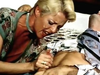 Horny Interracial Old-school Scene With Mike Ranger And Auntie Peg