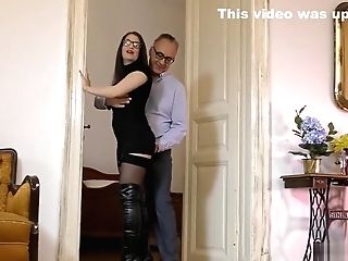 Uk Spex Nubile Gets Jizzed By Old Man