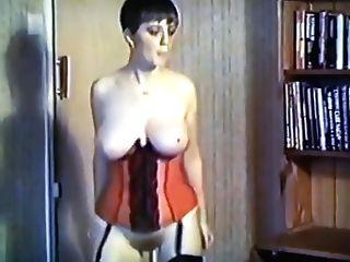 Peaches - Antique Big Tits Dance Unclothe Stockings Basque