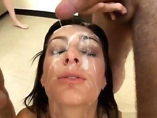 90 Facial Cumshot Money-shots Compilation