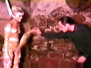 Totally Vulnerable Blonde Predominated And Abjected In A Moldy Basement