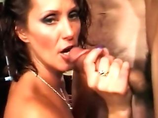 Crazy Sex Industry Star Candy Vegas In Best Gang-fuck, Interracial Pornography Movie