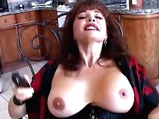 Spicy Old Latina Loves To Think Of You As She Plays With Her Yummy Poon