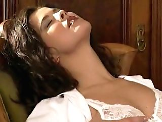 Girl/girl Assistant Licks The Hairy Labia Physician