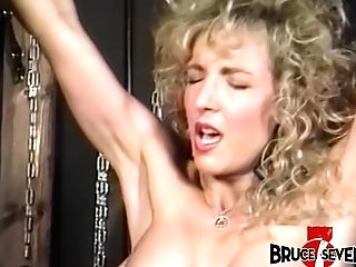 Servant Honey Gets Her Titties Spanked While She Is Shackled
