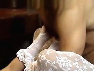 Beautiful Lady In Retro Porno Movie